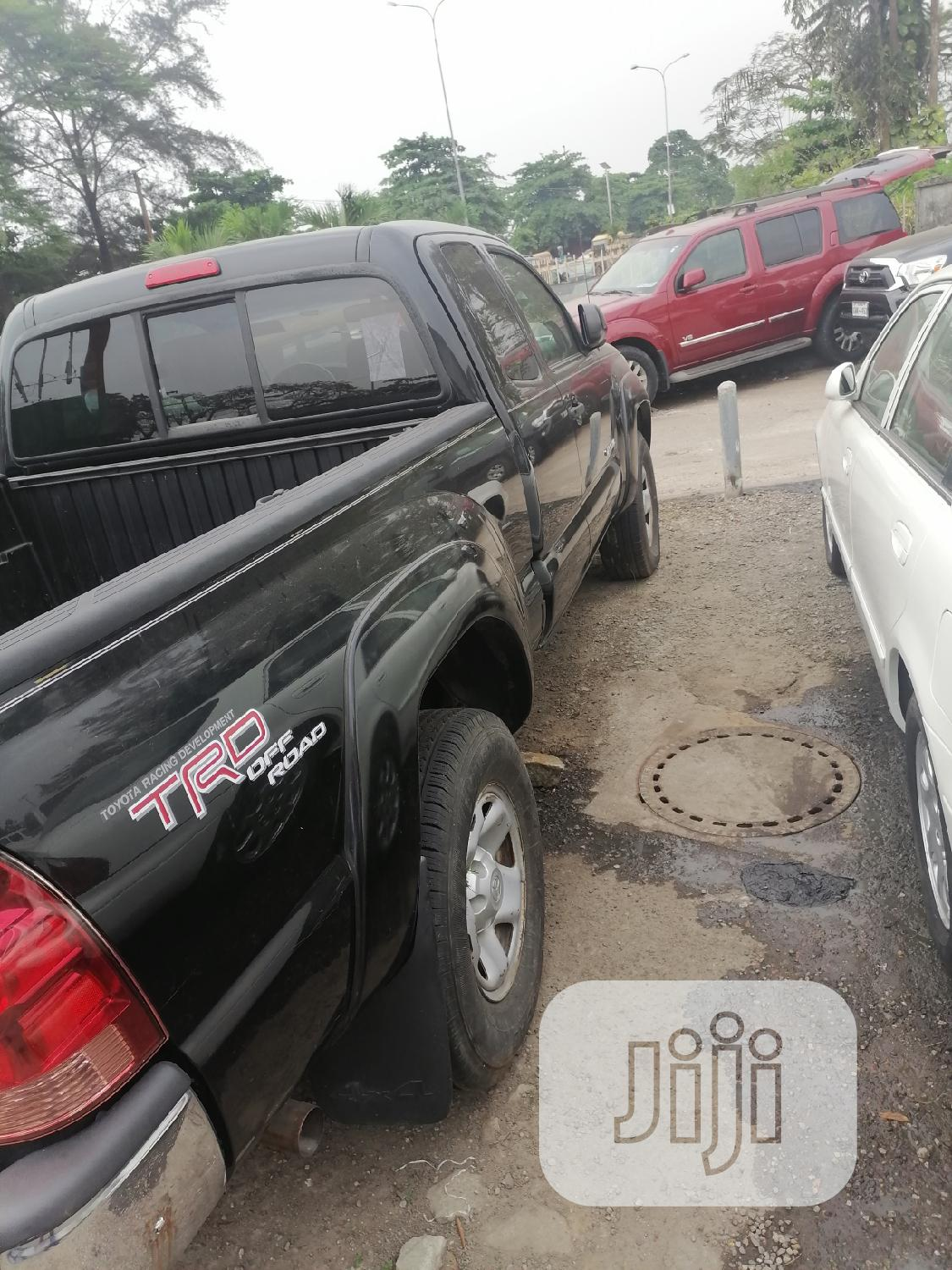 Toyota Tacoma 2008 4x4 Access Cab Black | Cars for sale in Amuwo-Odofin, Lagos State, Nigeria