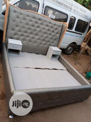 6by6feet Bedframe With 2 Bedside Drawers. King's Size Bed   Furniture for sale in Lagos State, Lekki