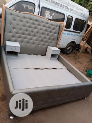 6by6feet Bedframes With 2 Bedside Drawers. King's Size Bed   Furniture for sale in Lagos State, Magodo