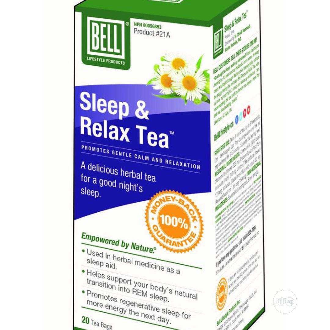 Archive: Bell Sleep and Relax Tea.