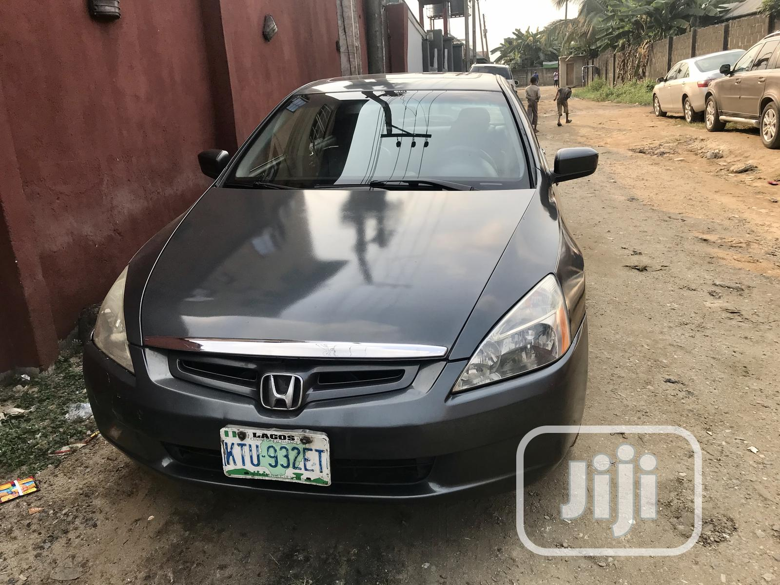 Honda Accord 2003 Automatic Gray | Cars for sale in Port-Harcourt, Rivers State, Nigeria