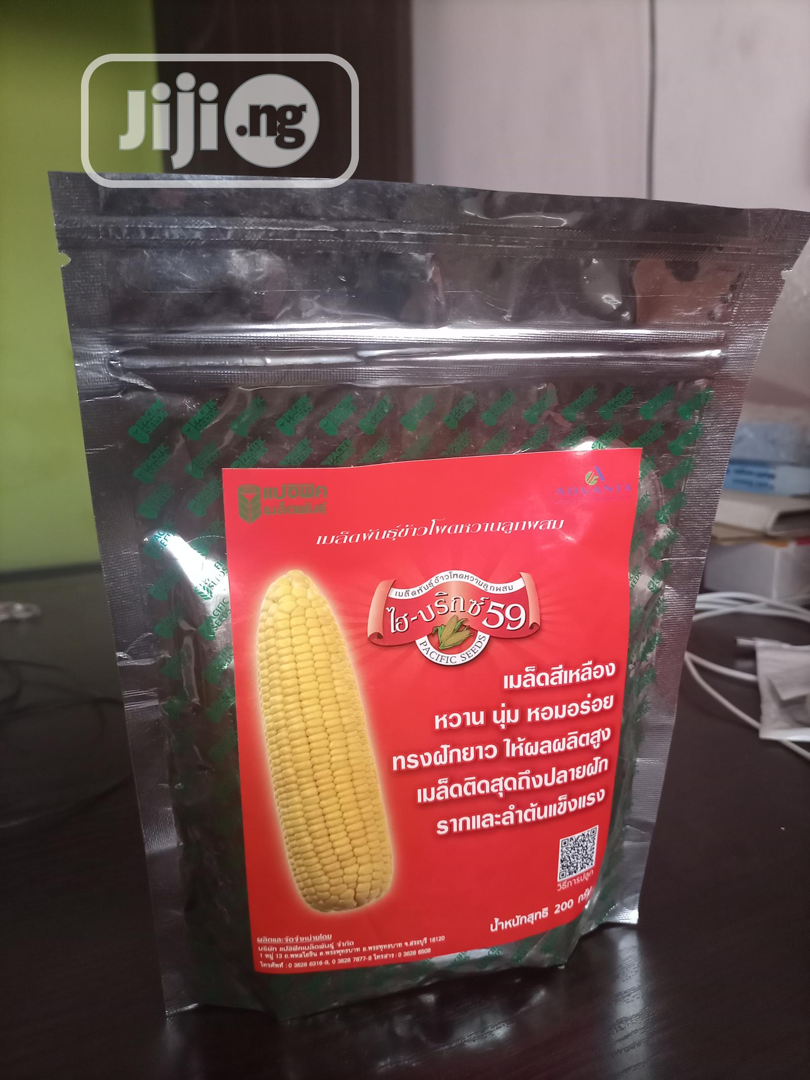 Archive: Sweet Corn Seed Hi Brix 59 From Pacific Seed – 200g Pack