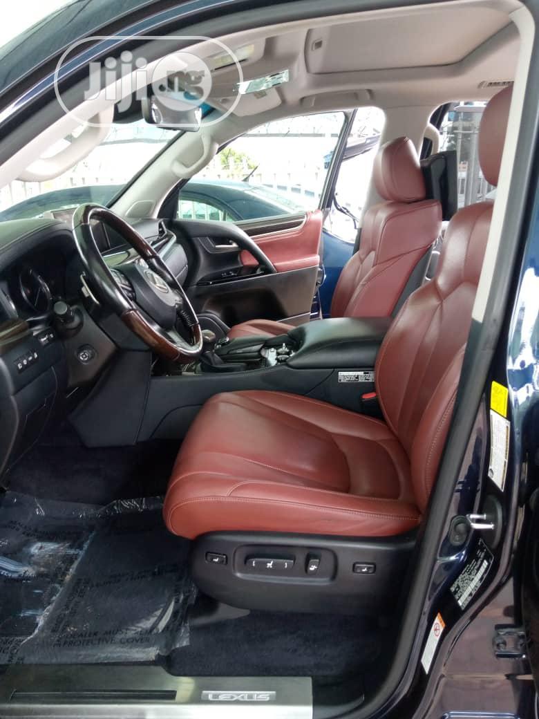 Archive: Lexus LX 2018 Blue