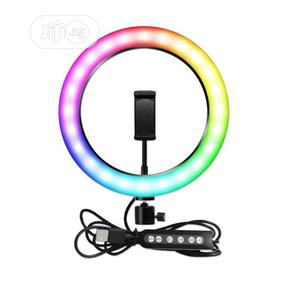 Phone Tripod Stand With RGB Soft Ring Light | Accessories & Supplies for Electronics for sale in Lagos State, Lekki