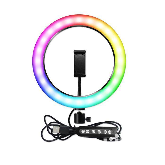 Archive: Phone Tripod Stand With RGB Soft Ring Light
