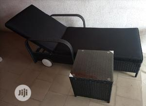Very Unique Imported Outdoors Relaxing Bed With a Side Table | Furniture for sale in Lagos State, Ojo