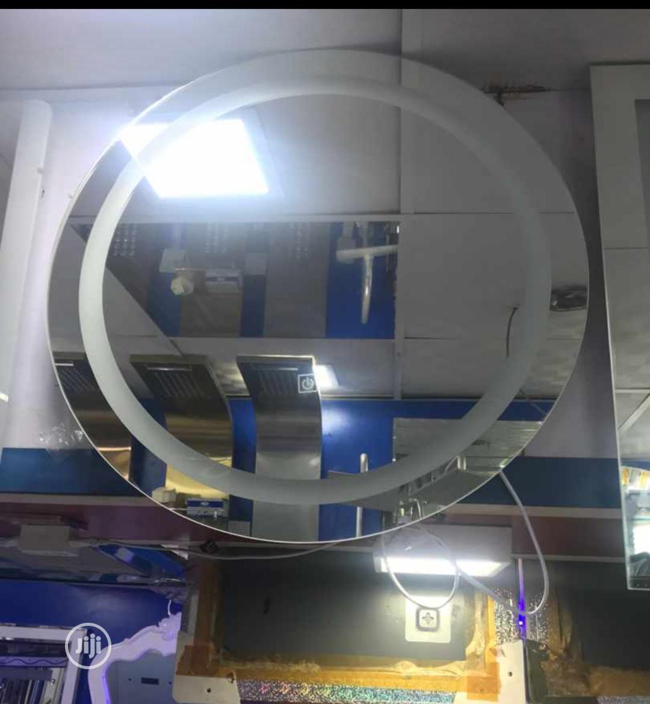 Round Shaped Led Mirror