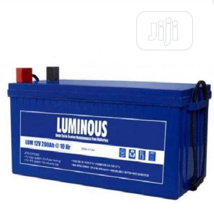 Luminous Battery 200AH/12V