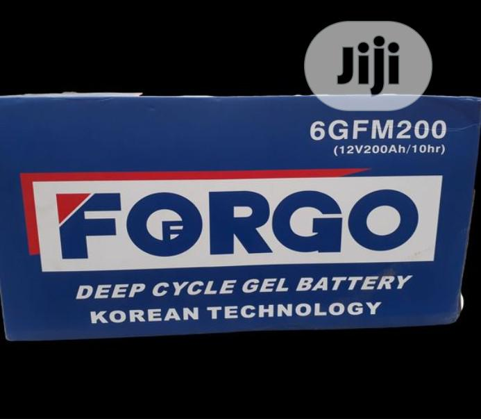 Forgo Solar Battery 12V 200AH