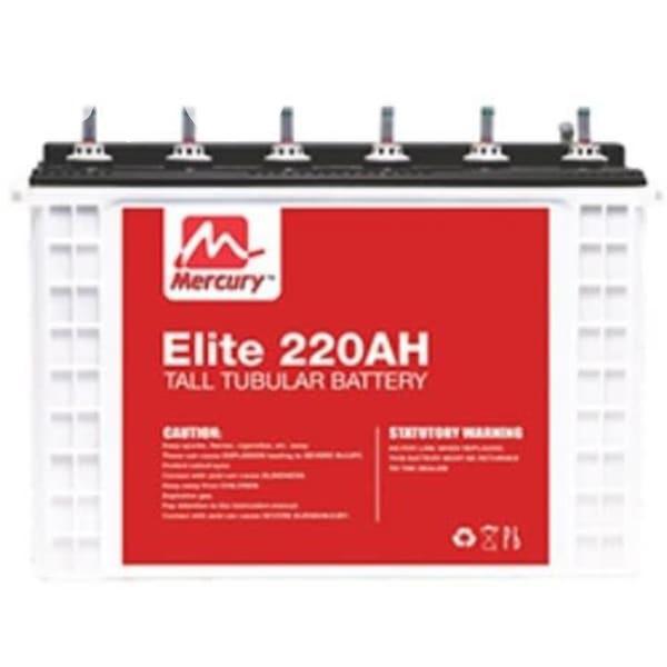Archive: Mercury Elite 12v 220ah Deep Cycle Tall Tubular Battery