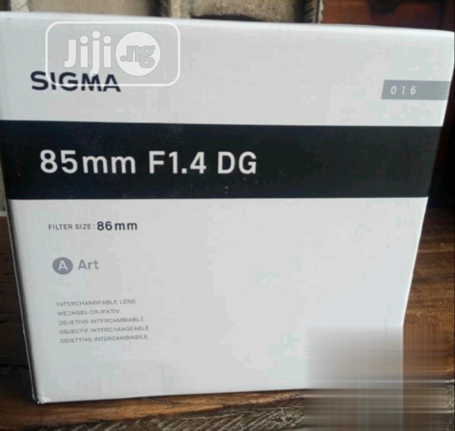 Sigma 85mm F1.4DG Lens