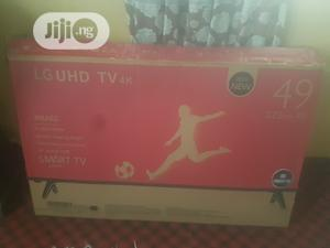 LG UHD TV 4k Smart Tv 49inches Plasmas | TV & DVD Equipment for sale in Oyo State, Ogbomosho South