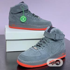 "Original Nike Air Force 1 ""Mid Grey""Sneaker | Shoes for sale in Lagos State, Lagos Island (Eko)"
