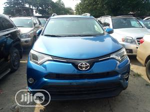 Toyota RAV4 2016 XLE AWD (2.5L 4cyl 6A) Blue | Cars for sale in Lagos State, Amuwo-Odofin