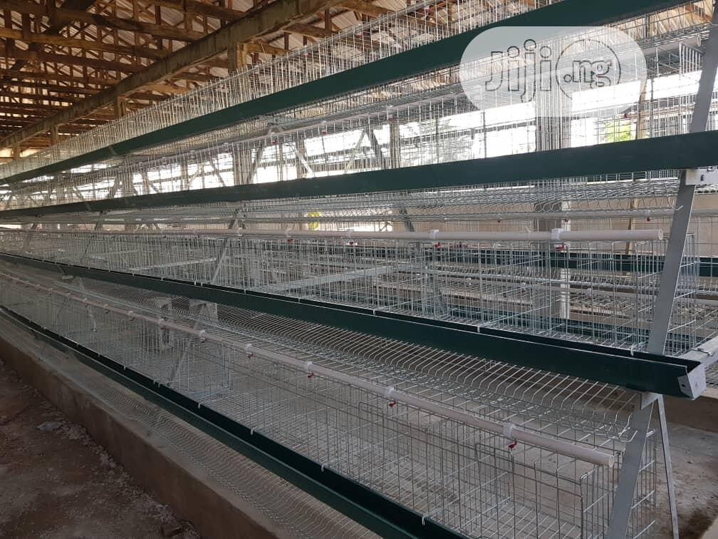 Authomatic Poultry Cage   Farm Machinery & Equipment for sale in Lagos Island (Eko), Lagos State, Nigeria
