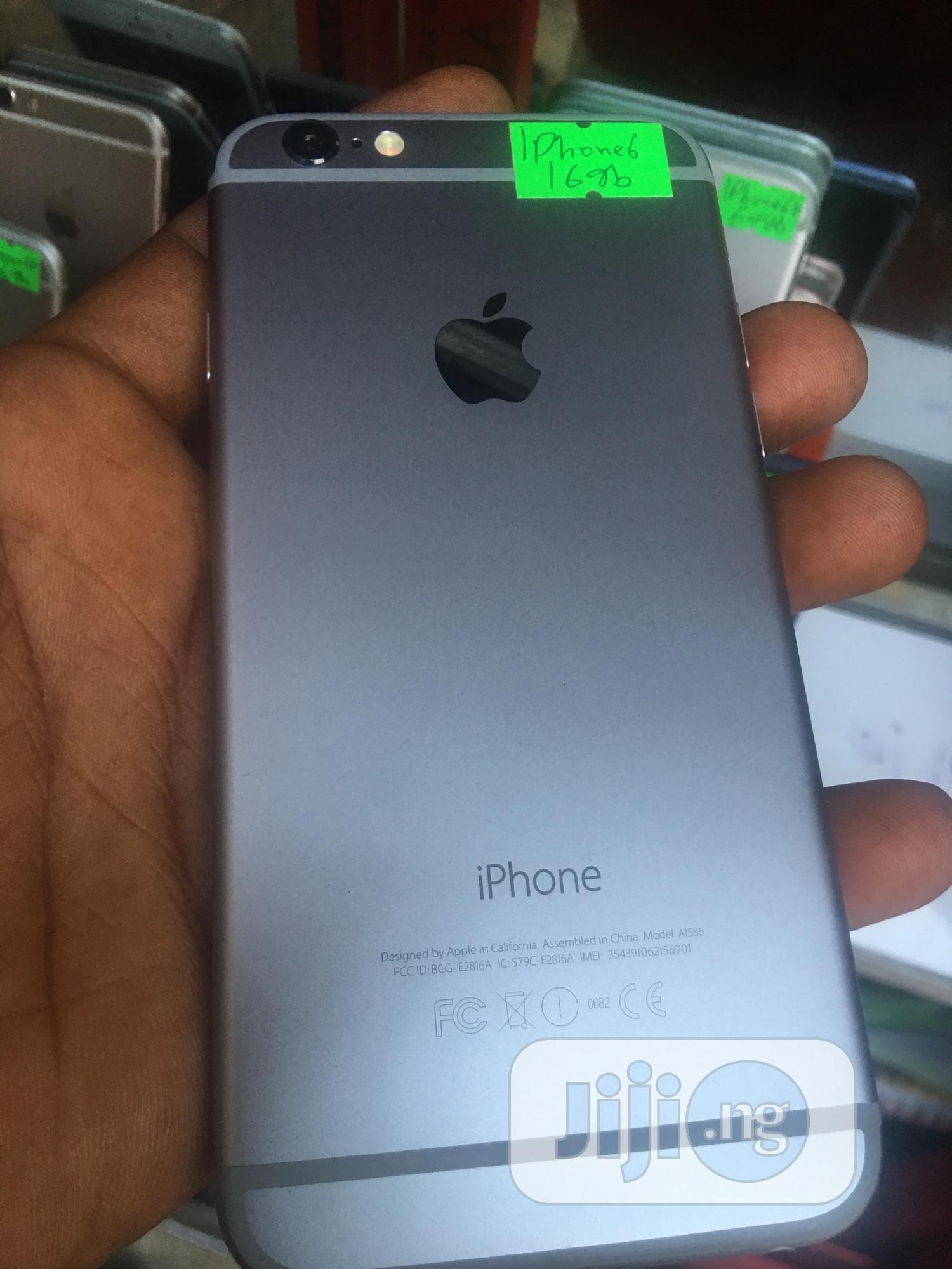 Apple iPhone 6 16 GB Gray | Mobile Phones for sale in Ikeja, Lagos State, Nigeria