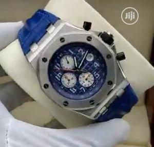High Quality Audemars Piguet Number Dial Rubber Strap Watch | Watches for sale in Lagos State, Magodo