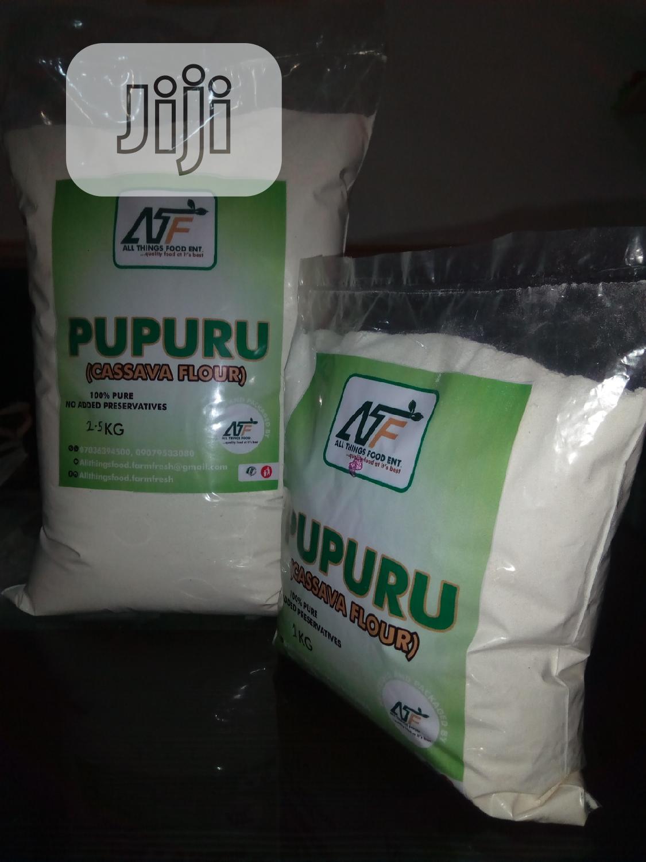 Cassava Flour (PUPURU/AKPU) | Meals & Drinks for sale in Ifako-Ijaiye, Lagos State, Nigeria
