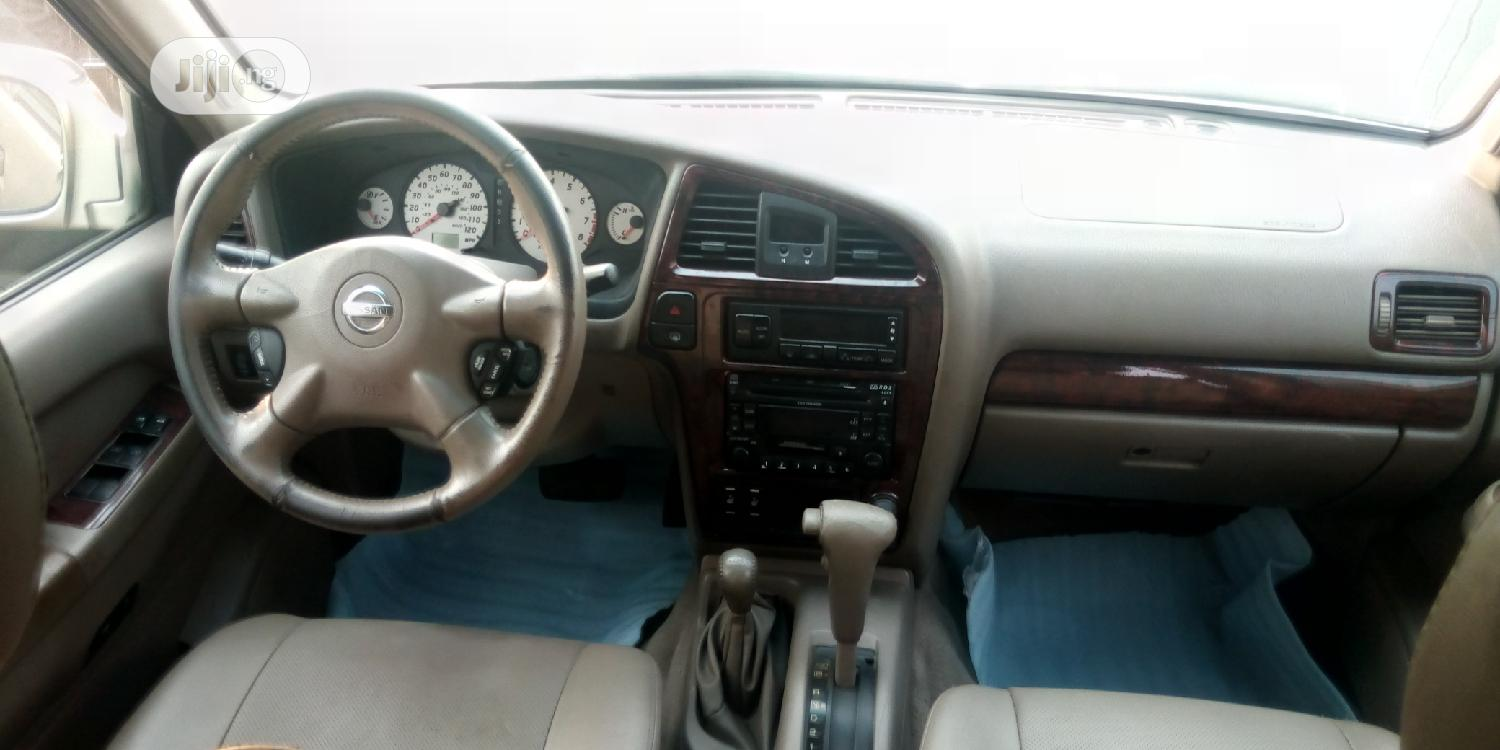Nissan Pathfinder 2003 LE AWD SUV (3.5L 6cyl 4A) Gold | Cars for sale in Apapa, Lagos State, Nigeria