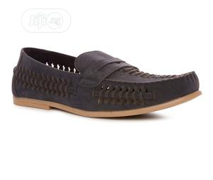 Mans Navy Blue Woven Loafers   Shoes for sale in Lagos State, Lekki