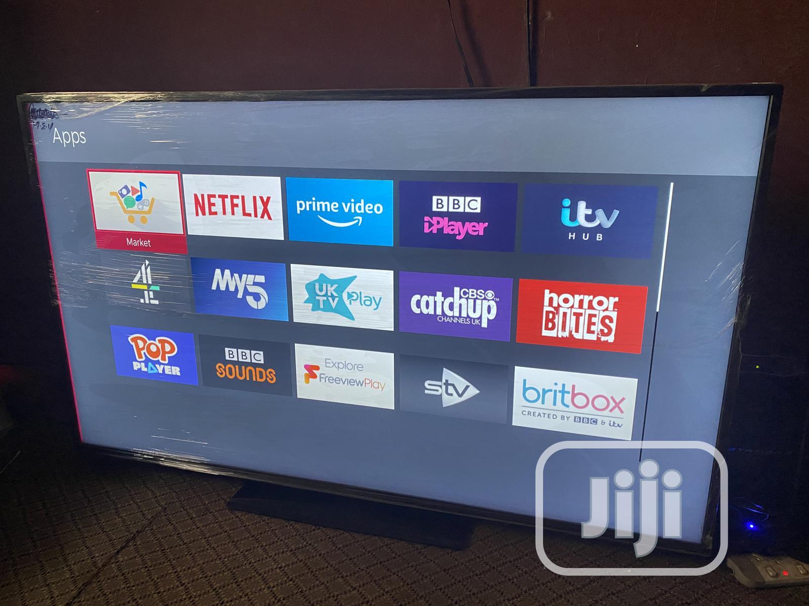 Hitachi 58inch 4K Uhd Hdr LED Smart TV