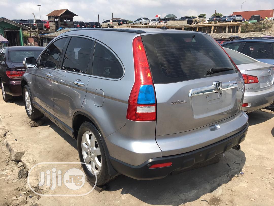 Honda CR-V 2008 2.4 EX Automatic Silver | Cars for sale in Ikeja, Lagos State, Nigeria