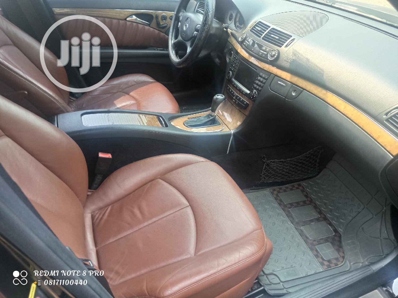 Mercedes-Benz E350 2007 Black | Cars for sale in Gbagada, Lagos State, Nigeria
