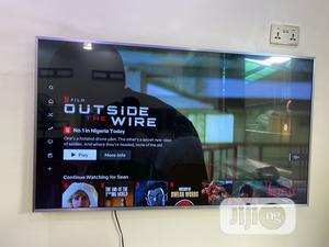 55 Samsung UE55MU6470 4k Ultra HD HDR Smart Led Tv | TV & DVD Equipment for sale in Lagos State, Lekki