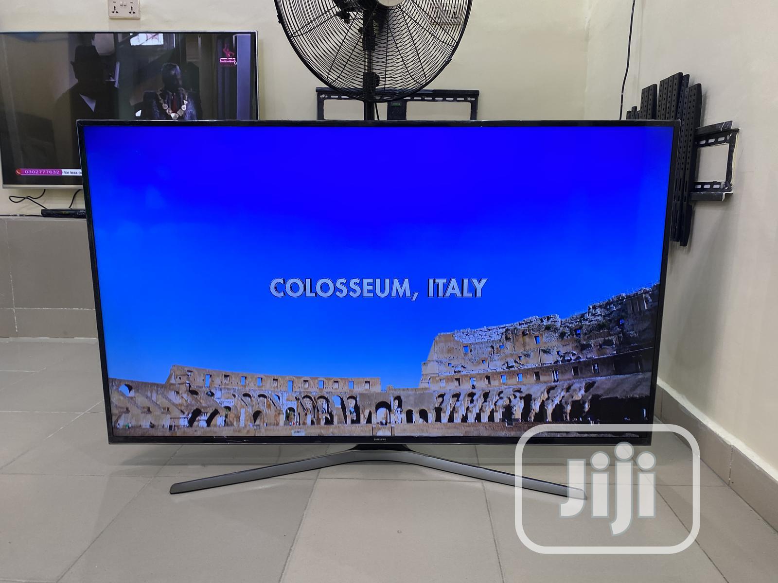 60 Samsung UE60JU6800 4K Ultra HD Freeview HD Smart LED | TV & DVD Equipment for sale in Ikeja, Lagos State, Nigeria