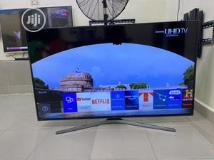 60 Samsung UE60JU6800 4K Ultra HD Freeview HD Smart LED | TV & DVD Equipment for sale in Lagos State, Ikeja
