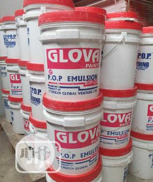 Glova Paint Emulsion Paint (20ltrs) | Building Materials for sale in Lagos State, Yaba