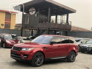 Land Rover Range Rover Sport 2016 SE 4x4 (3.0L 6cyl 8A) Red | Cars for sale in Lagos State, Ikeja