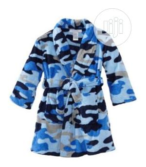 Kids Boys Primark Blue Camouflage Bath Robe Dressing Gown | Children's Clothing for sale in Lagos State, Oshodi