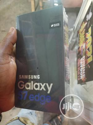New Samsung Galaxy S7 edge 32 GB Black   Mobile Phones for sale in Lagos State, Surulere