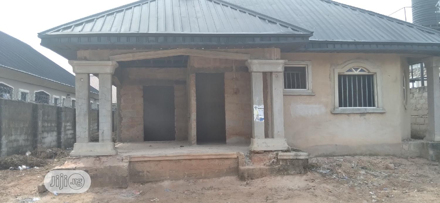 Well Built Uncompleted 2 Flats Bungalow for Urgent Sale