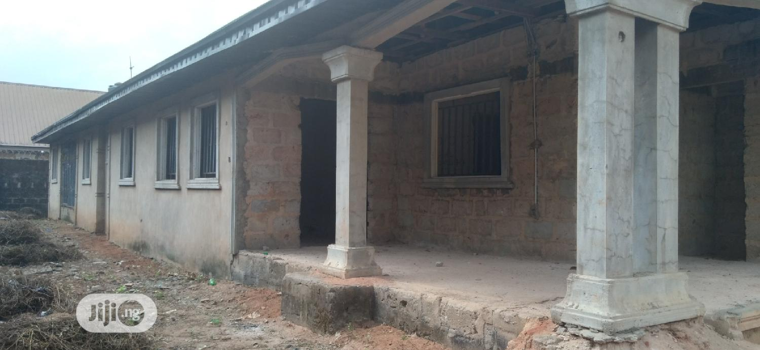 Well Built Uncompleted 2 Flats Bungalow for Urgent Sale | Houses & Apartments For Sale for sale in Benin City, Edo State, Nigeria