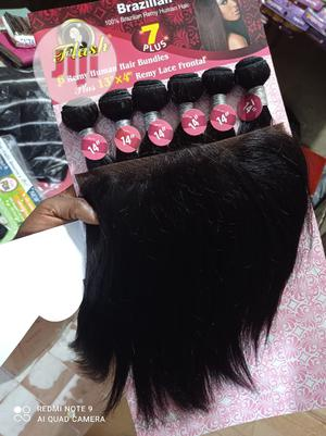 Flash Human Hair With Frontal | Hair Beauty for sale in Lagos State, Lekki