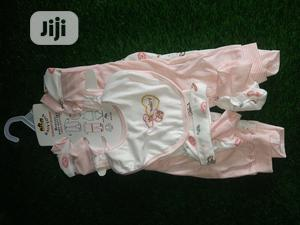 8pcs Complete Baby Starter. Contain Overall,Pyjamas Etc | Children's Clothing for sale in Lagos State, Alimosho