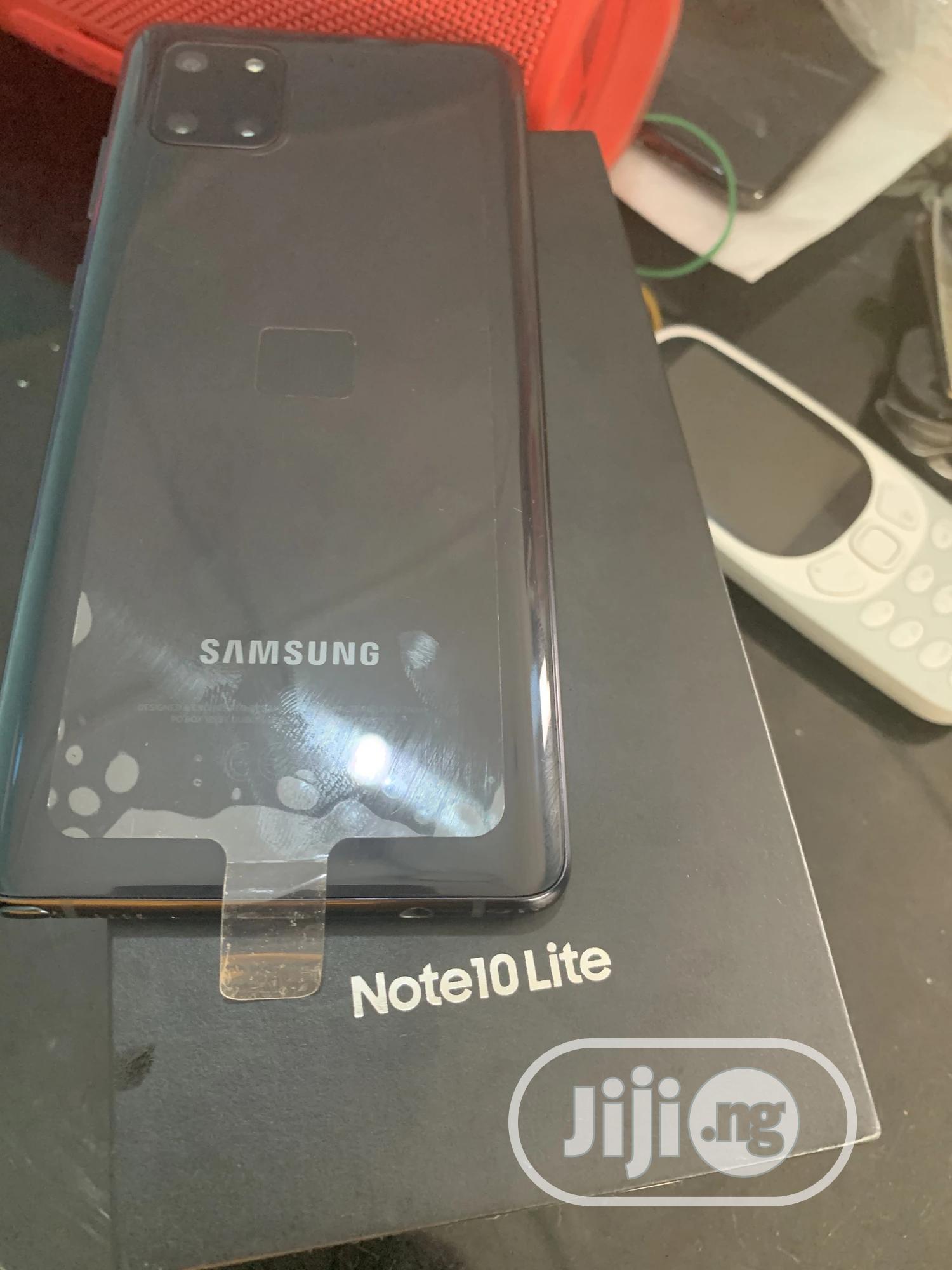 Samsung Galaxy Note 10 Lite 128 GB Black | Mobile Phones for sale in Osogbo, Osun State, Nigeria