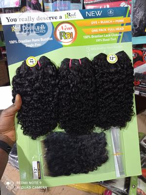 Double R Human Hair Blend Weave | Hair Beauty for sale in Lagos State, Lekki