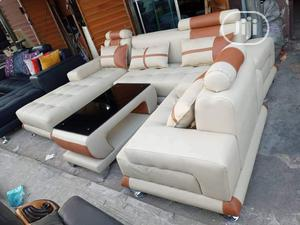 Modern Designs L Shape With Single and Center Table | Furniture for sale in Lagos State, Lekki