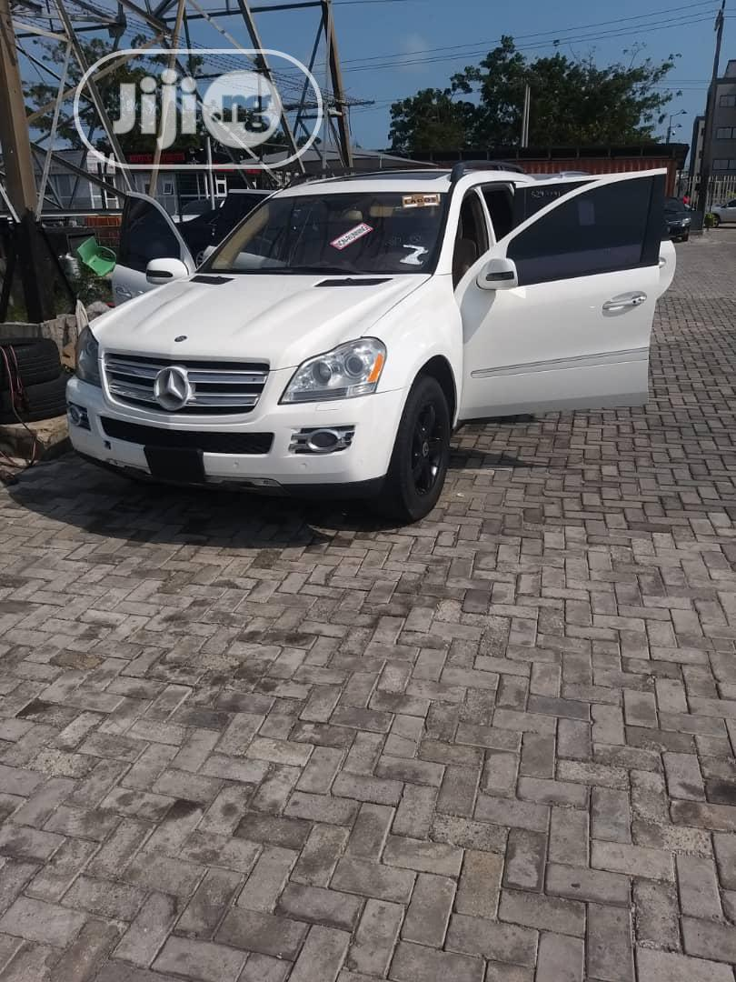 Mercedes-Benz GL Class 2008 GL 450 White | Cars for sale in Ajah, Lagos State, Nigeria