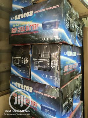 Blue Choice 200ah 12v Battery | Solar Energy for sale in Lagos State, Ojo