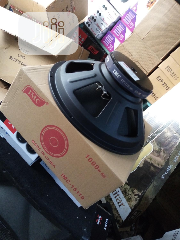 "15"" Speaker Imc. 15-110 | Audio & Music Equipment for sale in Mushin, Lagos State, Nigeria"