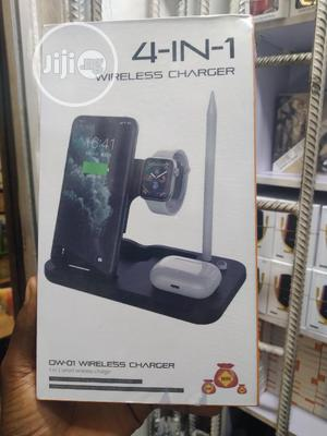 4 in 1 0w-01 Wireless Charger | Accessories for Mobile Phones & Tablets for sale in Lagos State, Ikeja
