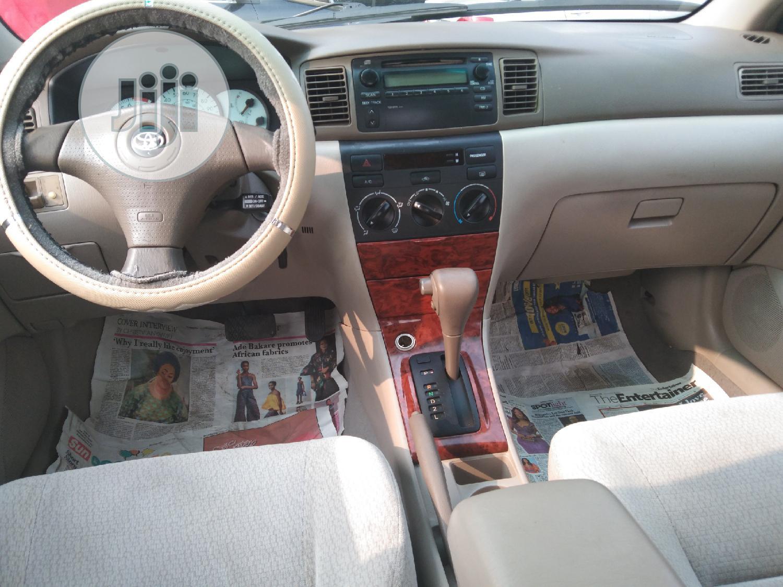 Toyota Corolla 2003 Sedan Automatic Gold   Cars for sale in Apapa, Lagos State, Nigeria