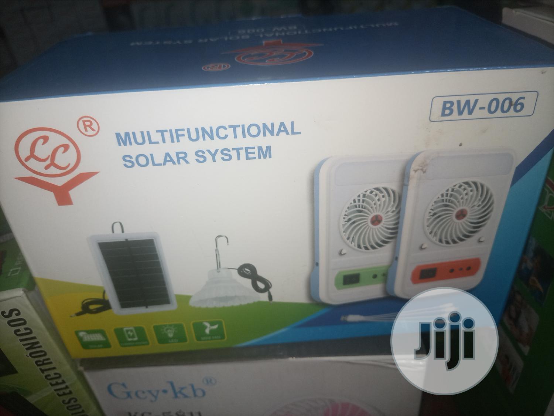 Multifunctional Solar Portable Fan