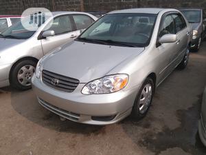 Toyota Corolla 2003 Sedan Gray | Cars for sale in Lagos State, Apapa