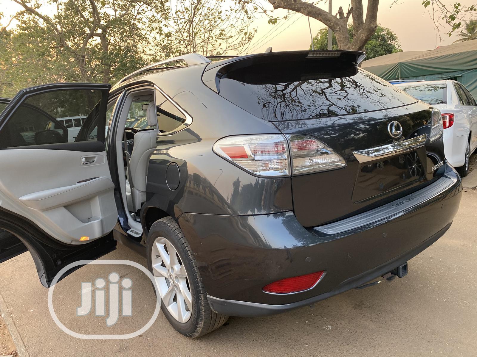 Lexus RX 2012 350 AWD Gray   Cars for sale in Garki 2, Abuja (FCT) State, Nigeria