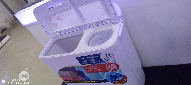 Archive: Scanfrost 6.5kg Twintub Washing Machine. SFWMTTA